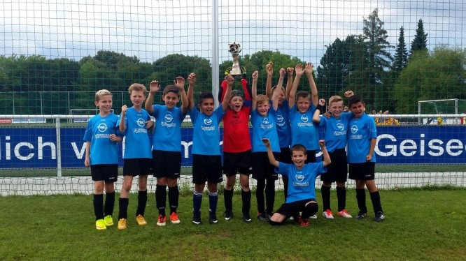 Wambeler U11 gewinnt E-Jugendturnier beim Geisecker SV (15.08.2015)