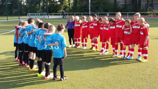 Freundschaftsspiel: Wambeler SV E1 - SV Brackel 06 DIII (30.08.2015)