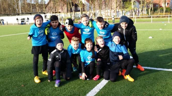 Meisterschaftsspiel E-Jugend: SV Preußen 07 Lünen - Wambeler SV