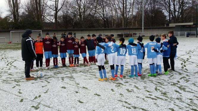 Freundschaftsspiel: Wambeler SV U11 - SV Körne 83 U12 (17.01.2016)