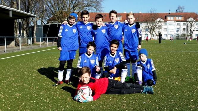 Meisterschaftsspiel E-Jugend: K.F. Sharri - Wambeler SV