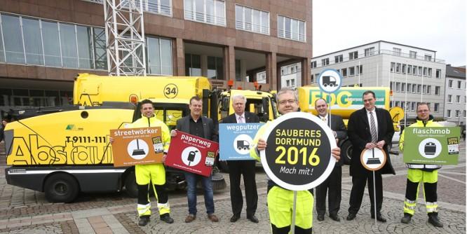 """Aktion """"Sauberes Dortmund 2016 - Mach mit!"""""""