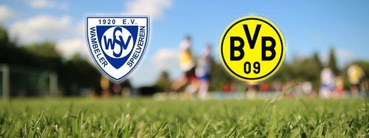 Begegnung: Wambeler SV - BV Borussia Dortmund