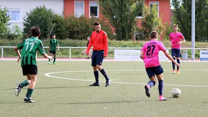 Meisterschaftsspiel B-Junioren: Hörder SC II - Wambeler SV (11.09.2016)