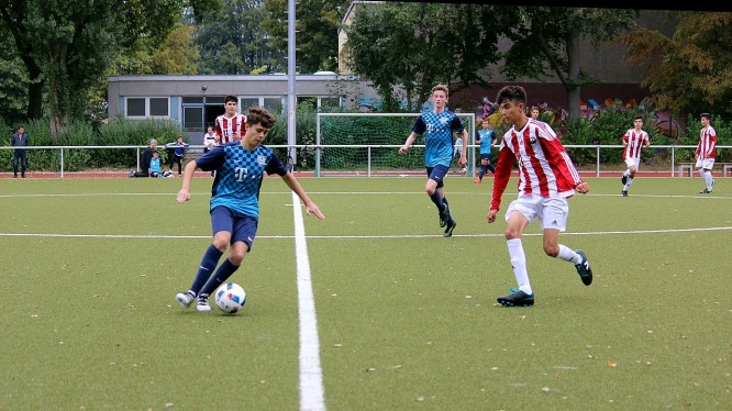 Meisterschaftsspiel B-Junioren: Wambeler SV - Eving Selimiye Spor (18.09.2016)