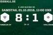 Meisterschaftsspiel E-Jugend: Wambeler SV - VfB Lünen (01.10.2016)