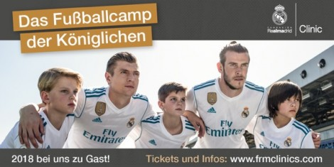 Real Madrid Fußballschule - Titelbild