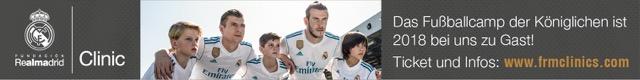 Real Madrid Fußballschule - Banner