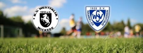 Begegnung: BV Westfalia Wickede - Wambeler SV
