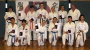 Karate-Prüfung 2017 zum nächsten Kyu-Grad