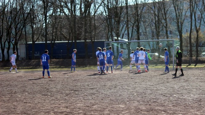 Meisterschaftsspiel Kreisliga C: BV Teutonia Lanstrop - Wambeler SV (24.02.2019)