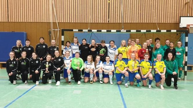 Wambeler B-Juniorinnen holen die FLVW-Hallenkreismeisterschaft Unna/Hamm (02.02.2020)